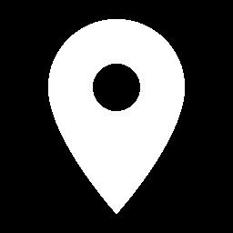 Icone de localisation sur une carte